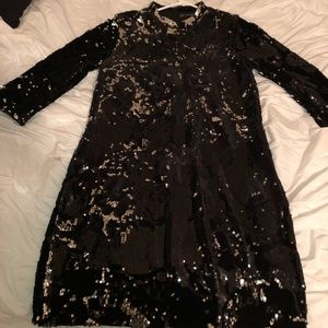 Sequin Chinese Inspired Dress